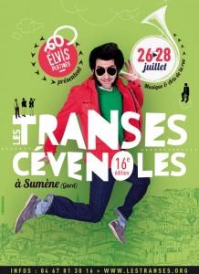 affiche les transes cévénoles 2013