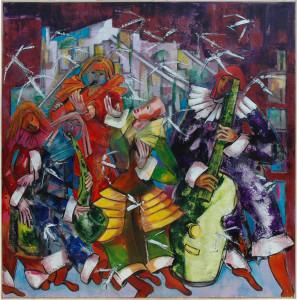 Madeleine Sergio peinture