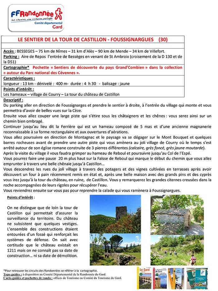 LE SENTIER DE LA TOUR DE CASTILLON (2)