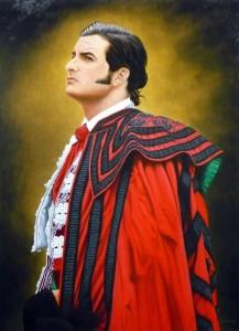 Vincent Perez - toile