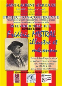 frederic mistral conference