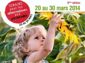 Semaine Sans Pesticides - mars 2014