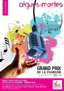 Grand Prix de la Chanson Cévennes-Camargue 2014