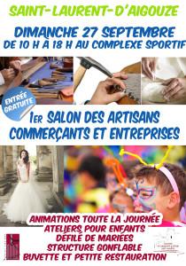 Affiche du Salon - Cliquez sur l'image pour accéder à la page Facebook de l'Association