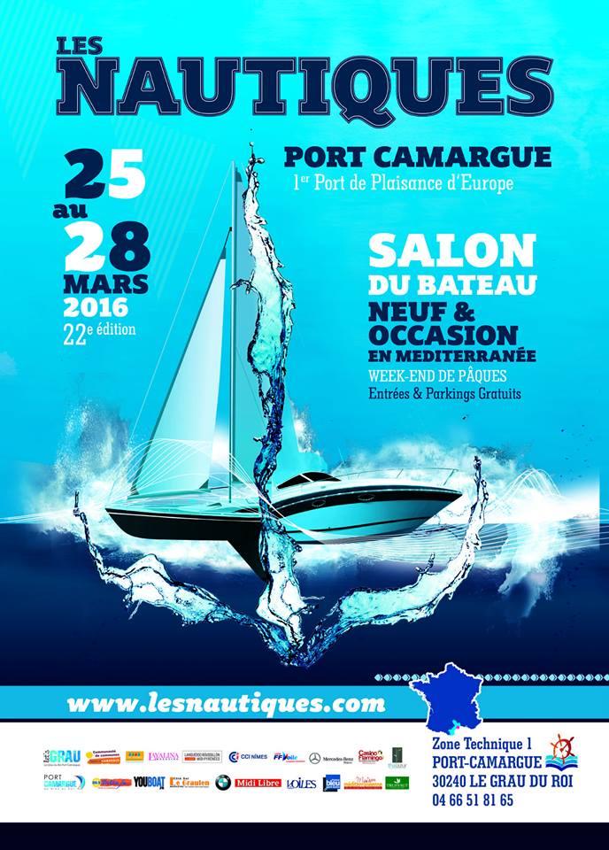 affiche nautique 2016